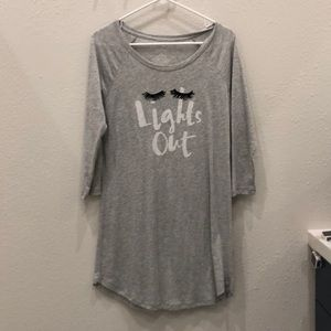 Xhilaration Lights Out nightgown